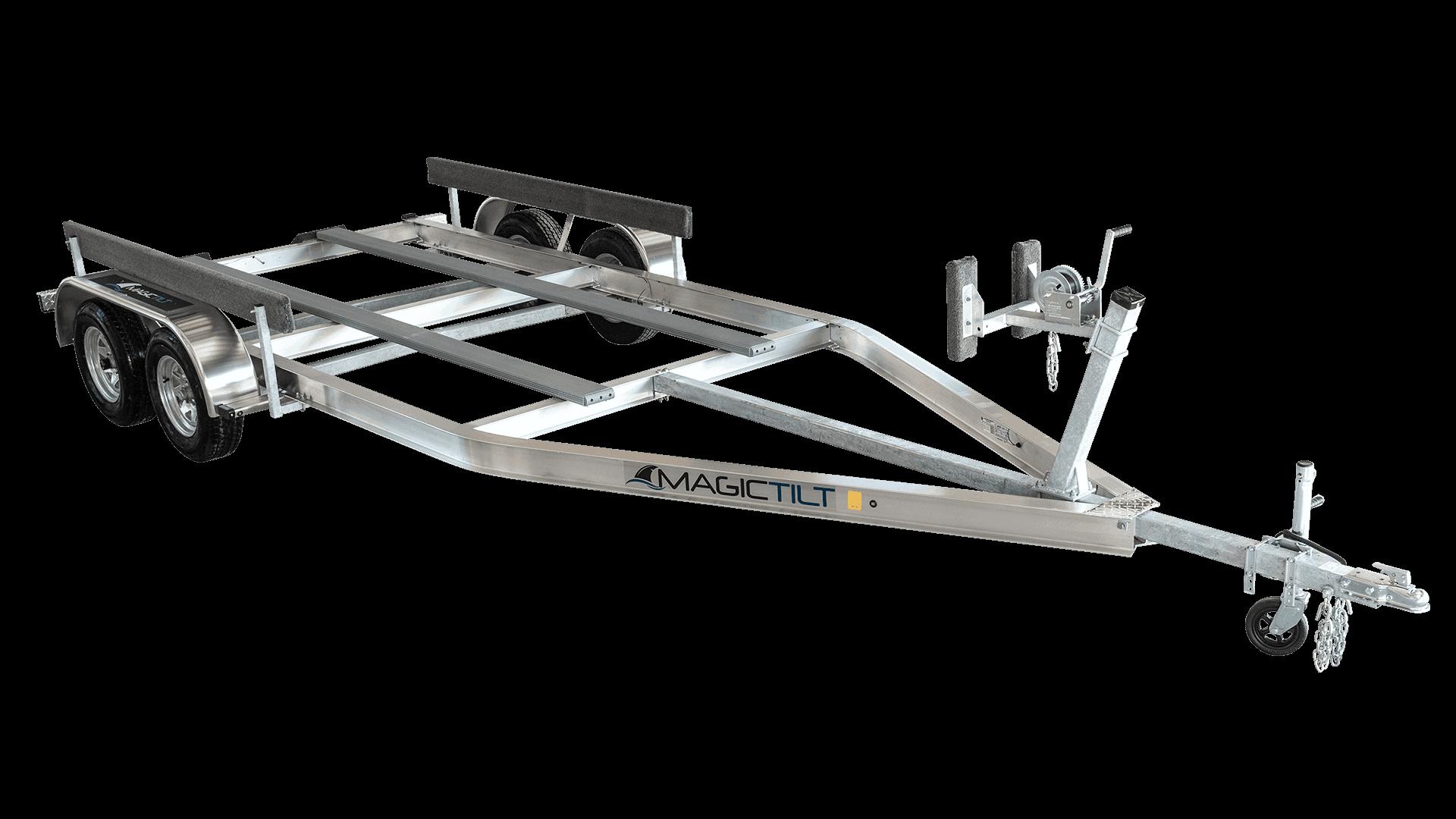 Aluminum Airboat Series Tandem Axle