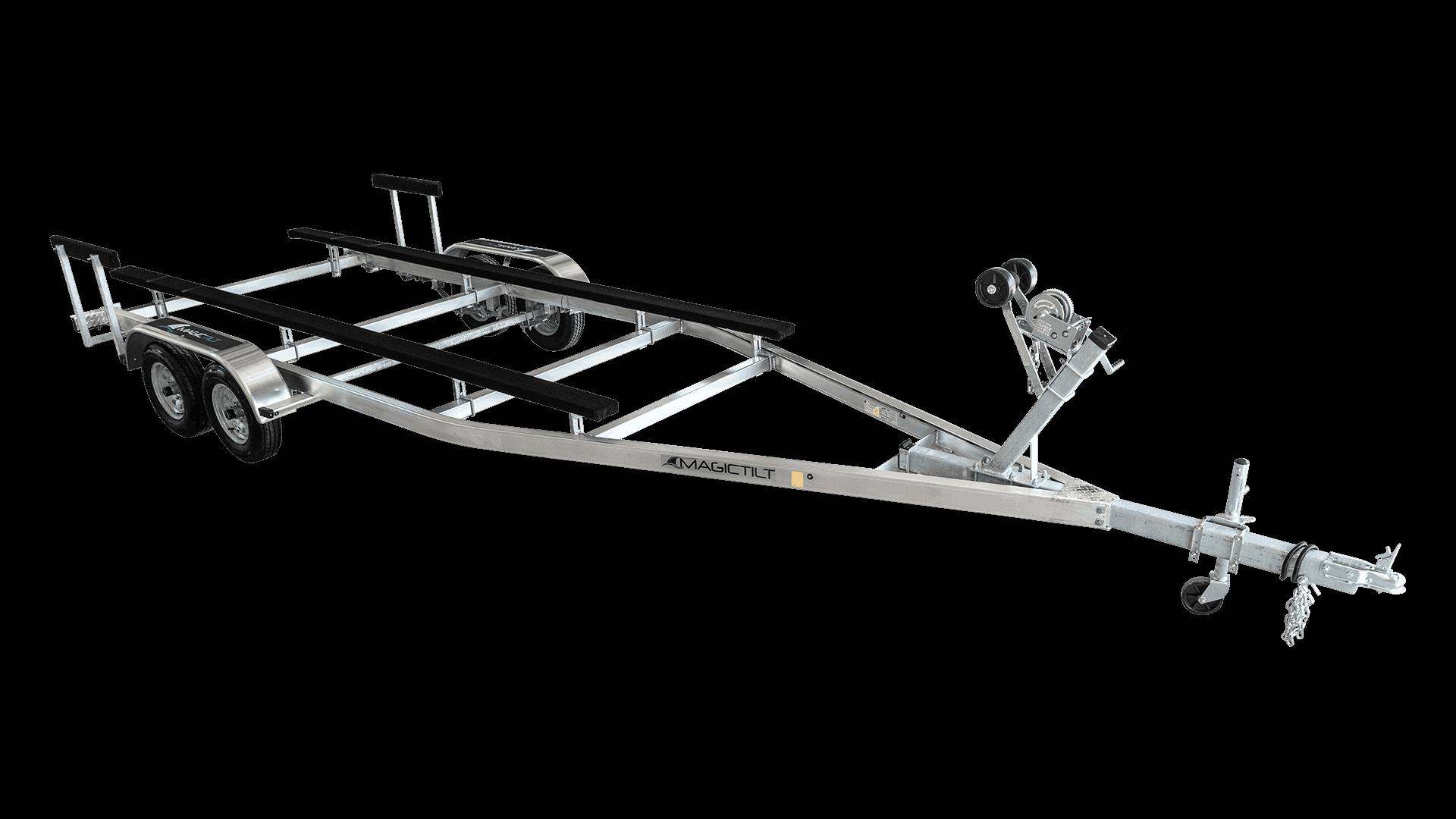 Aluminum Skiff Series Tandem Axle