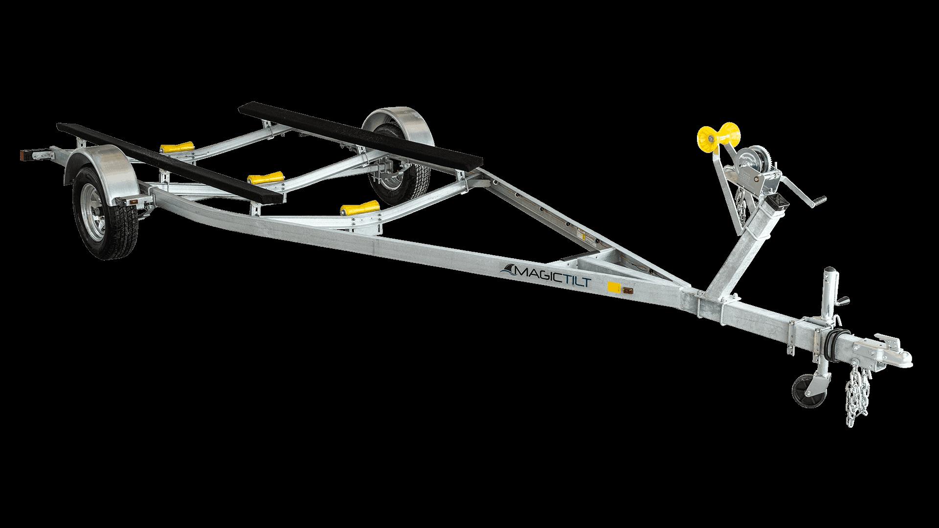 Galvanized MC Series Single Axle